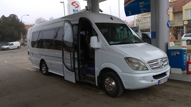 Minibus prevoz Vito Mercedes